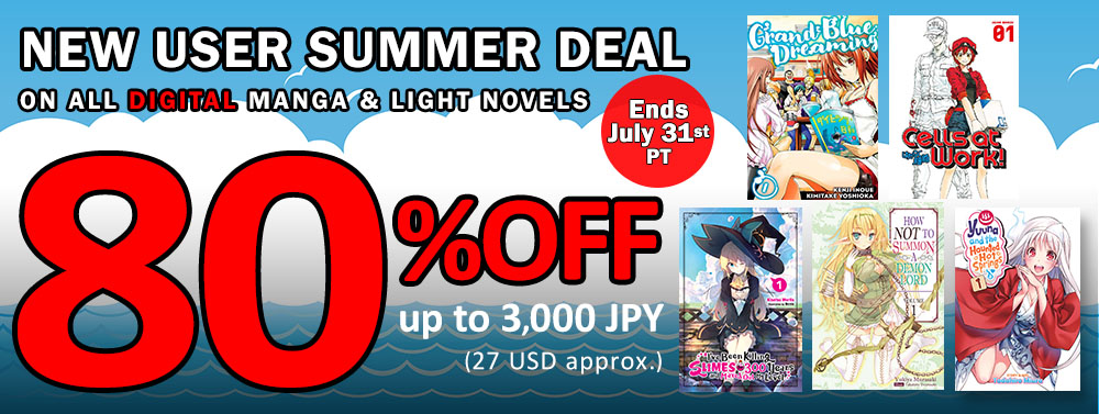 New User Summer Deal! | BOOK☆WALKER